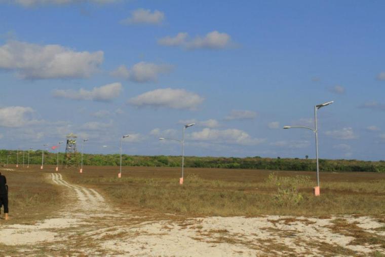 Panel surya di Pulau Ndana Rote