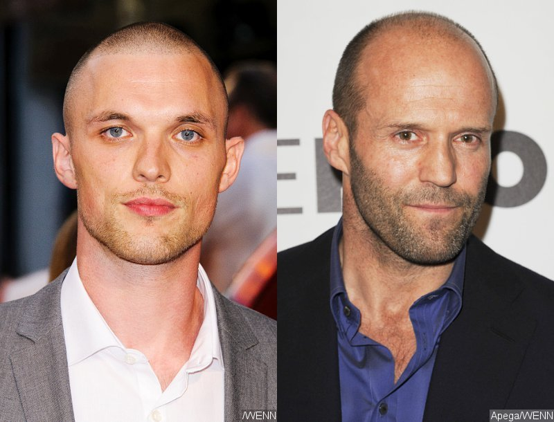 Ed Skrein dan Jason Startham (Foto: Ace Showbiz)