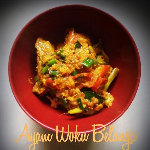 ayam woku belanga (muthe)