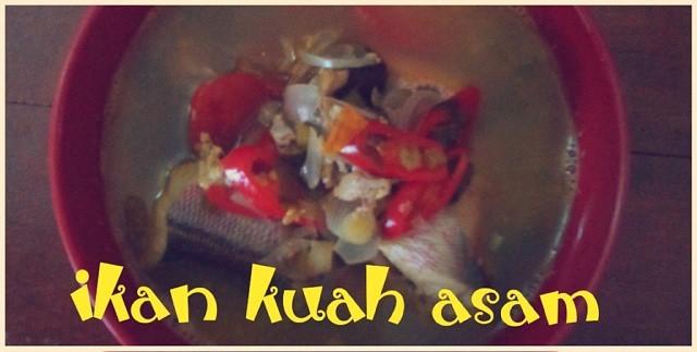 ikan kuah asam, sarden bangko (muthe)