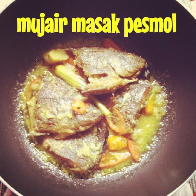 mujair masak pesmol (muthe)