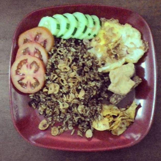 nasi goreng rendang (muthe)