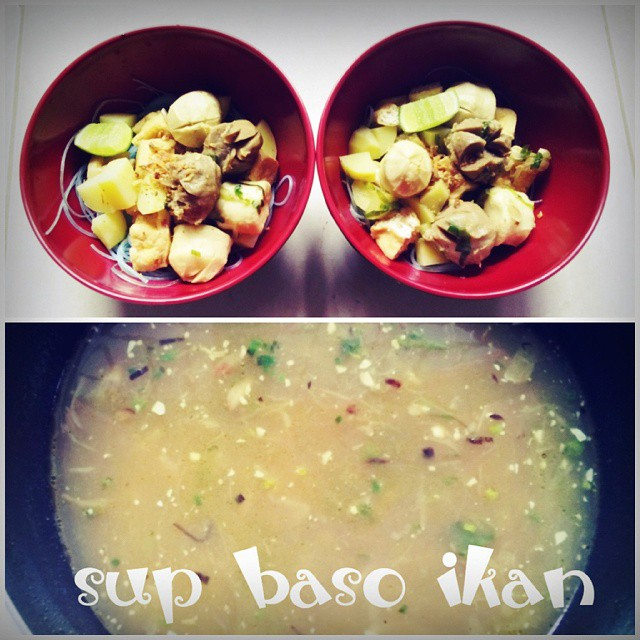 sup baso ikan (muthe)