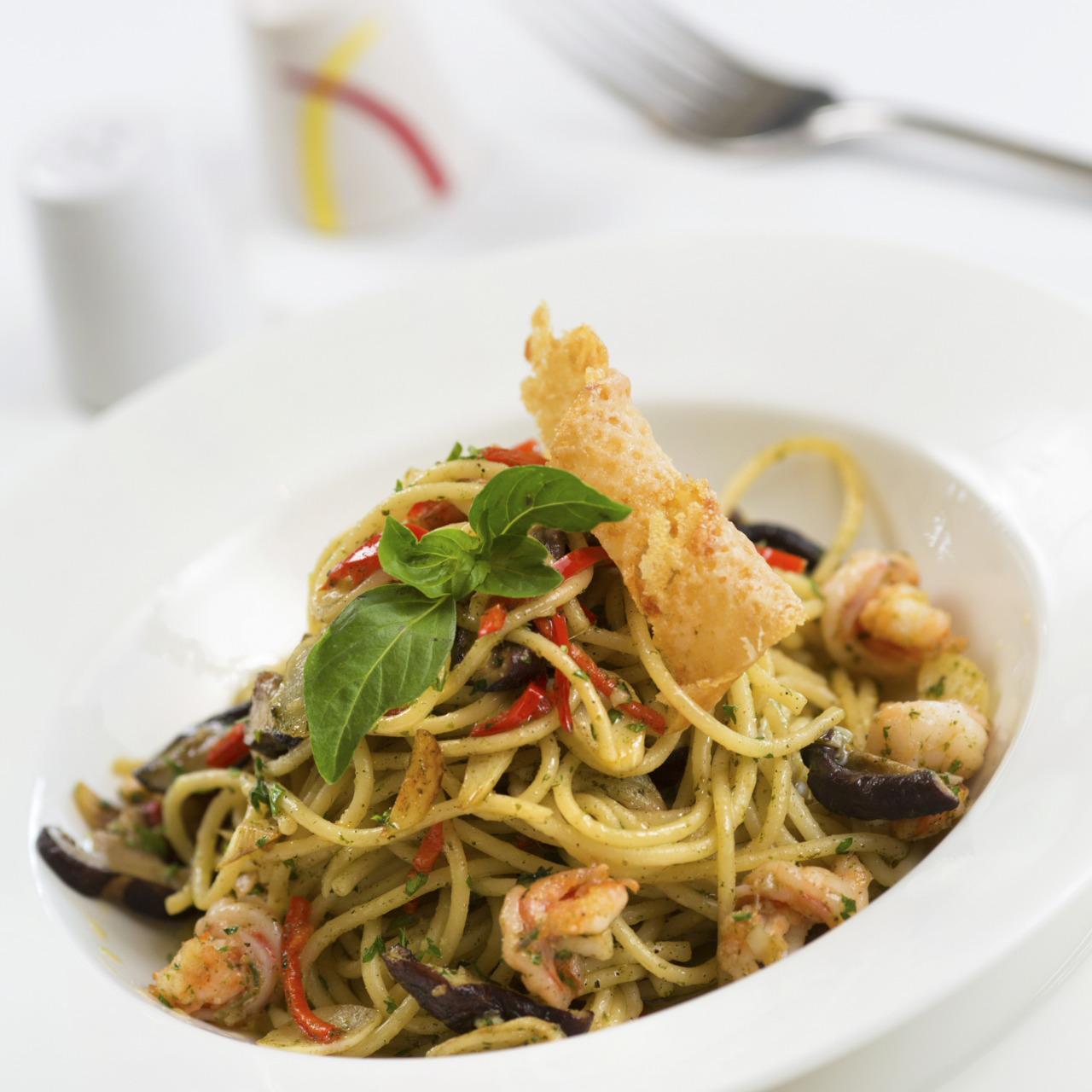 spaghettii aglio