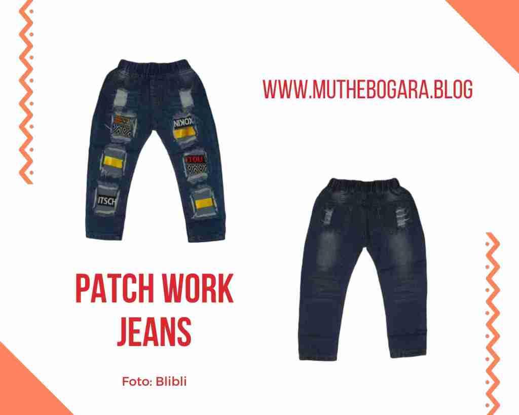 celana jeans anak perempuan