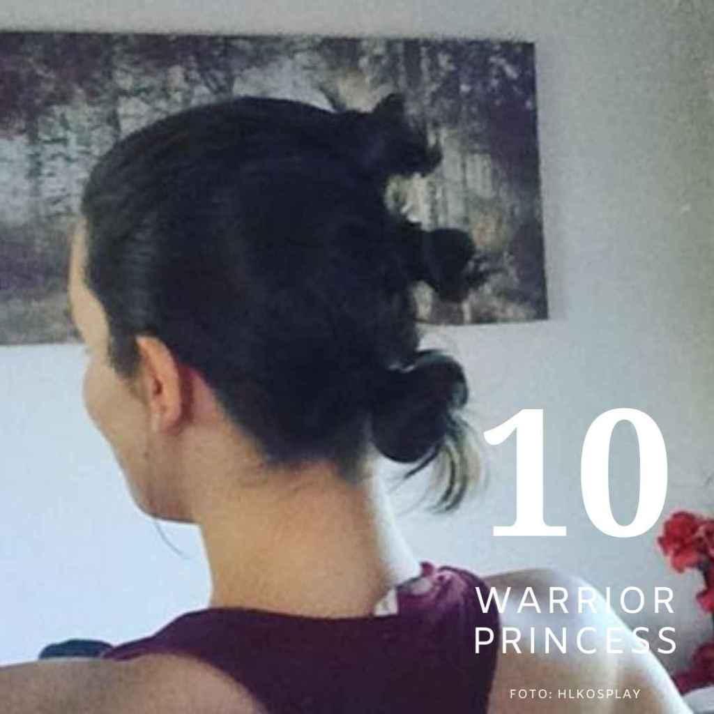 cara menguncir rambut pendek