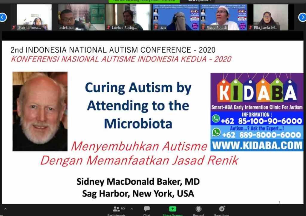 sidney baker di seminar nasional autisme