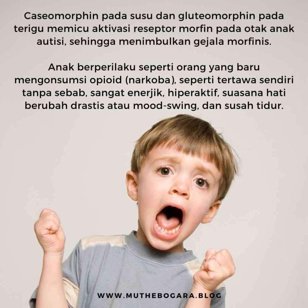 gejala morfinis pada autisi