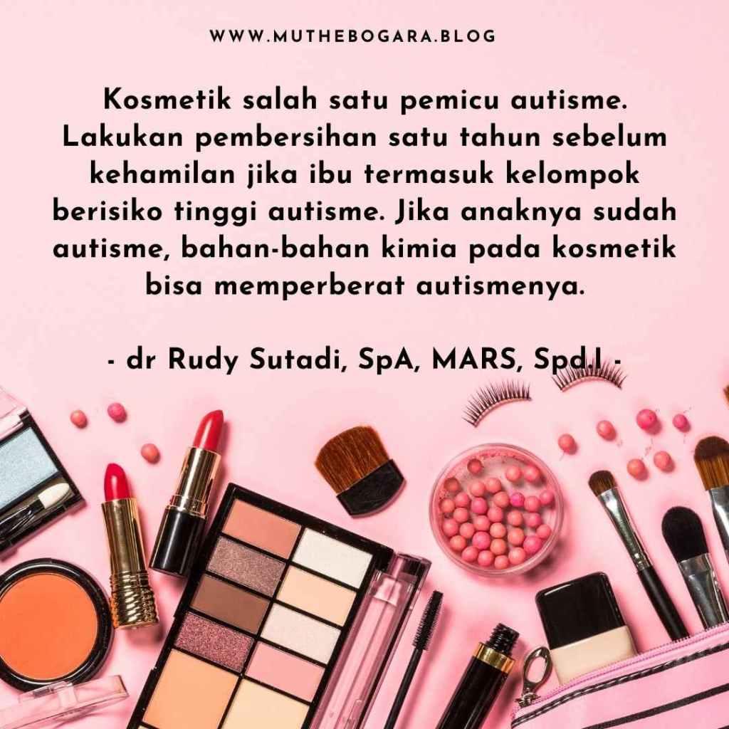 kosmetik menyebabkan autis