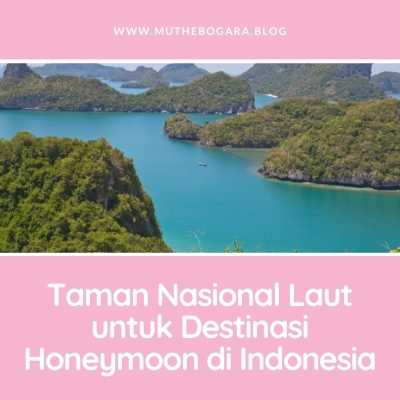 destinasi honeymoon