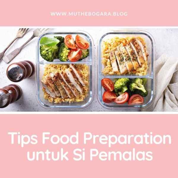 food preparation untuk seminggu