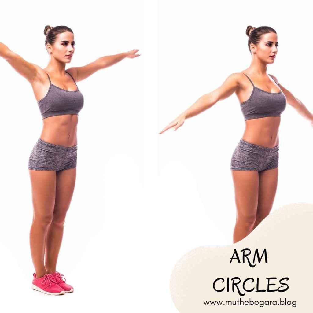 cara mengecilkan lengan secara alami