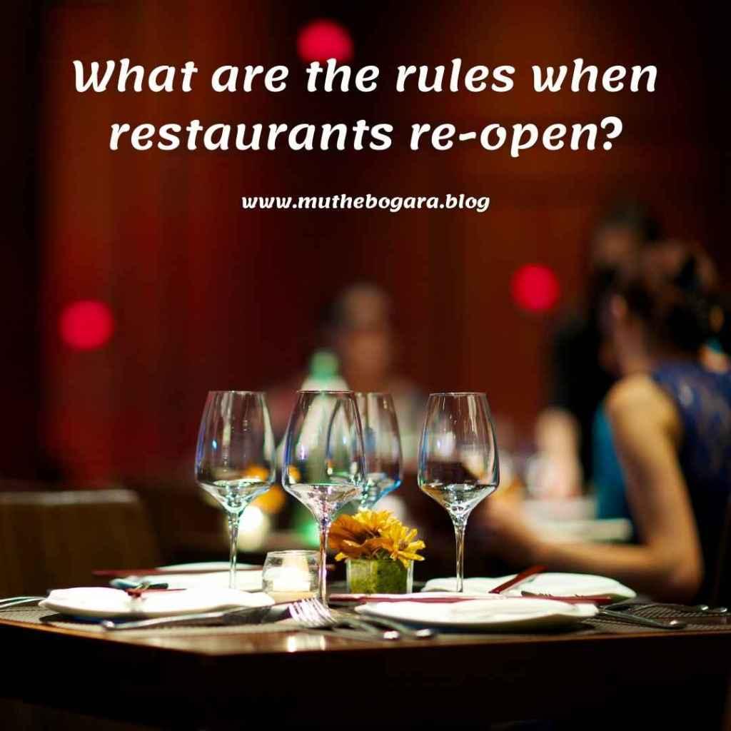 protokol kesehatan di restoran